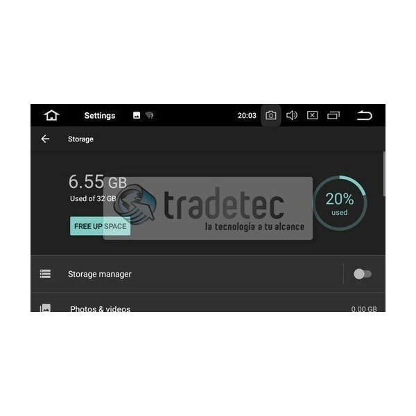 GPS Android 9,0 OCTA CORE 4GB RAM FORD TR2701