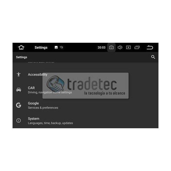 GPS Android 9,0 OCTA CORE 4GB RAM Dacia / Renault Captur TR2709