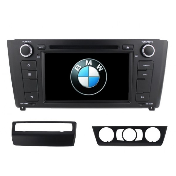 Radio DVD GPS BMW Serie 1 E80 ANDROID 8.1 REF: TR2716