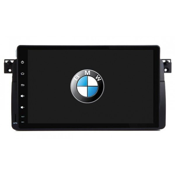 Radio DVD GPS BMW Serie 3 E46 ANDROID 9.1 REF: TR2717