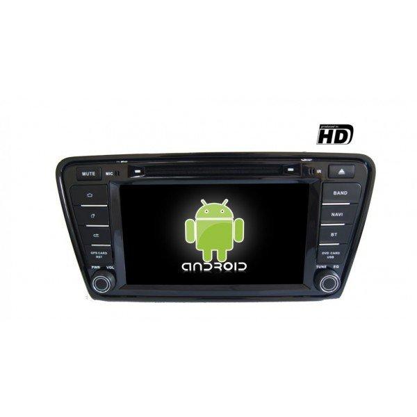 Radio DVD GPS HD Skoda Octavia 2014 ANDROID PURO REF: TR1850