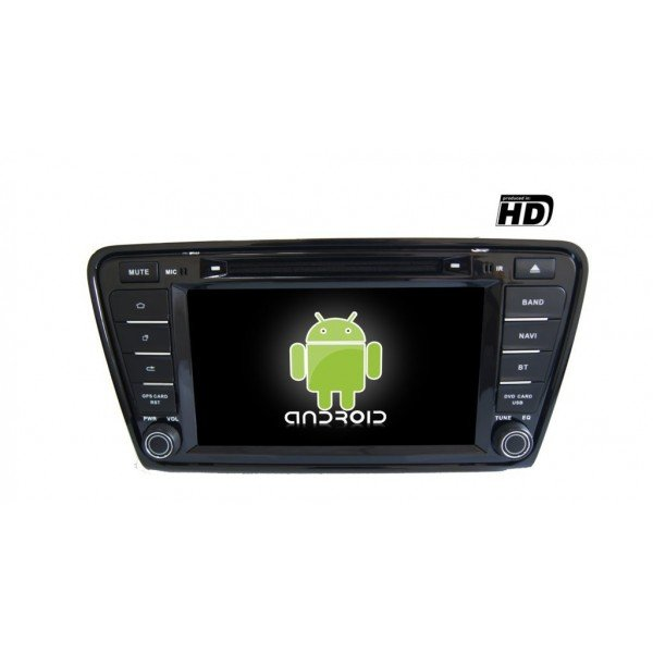 Radio DVD GPS HD Skoda Octavia PURE ANDROID REF: TR1850