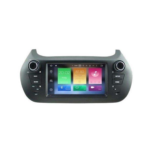 GPS Android 8,0 OCTA CORE 4GB RAM CITROEN NEMO / FIAT FIORINO / QUBO / BIPPER REF:TR2722