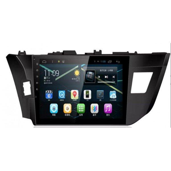 Radio DVD GPS HD QUAD CORE Corolla  ANDROID REF: TR2735