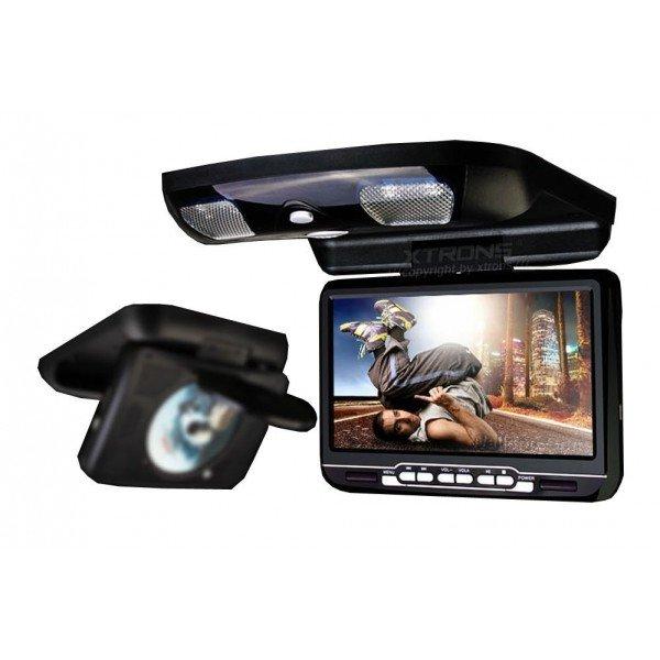 Monitor LCD 9 pulgadas, DVD, USB, SD y juegos REF: TR1449
