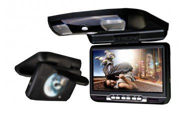 Pantalla techo coche 9 pulgadas, DVD, USB, SD y juegos REF: TR1449
