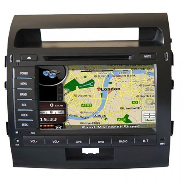Radio DVD GPS HD QUAD CORE Toyota Land Cruiser ANDROID REF: TR2736