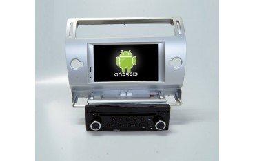 Radio pantalla Citroen C4 con navegador ANDROID GPS TR1853