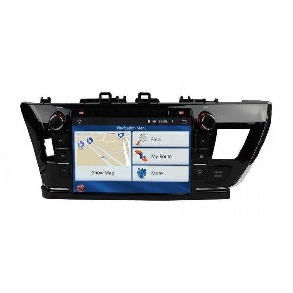 Radio DVD GPS HD QUAD CORE Toyota Corolla ANDROID REF: TR2743
