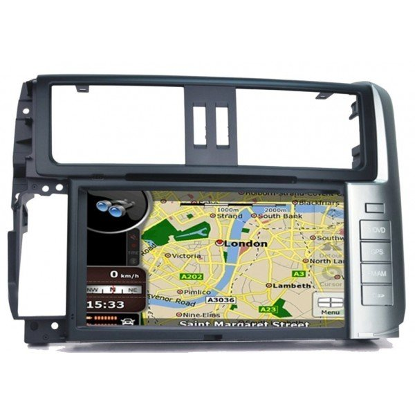 Radio DVD GPS HD QUAD CORE Toyota Land Cruiser ANDROID REF: TR2748