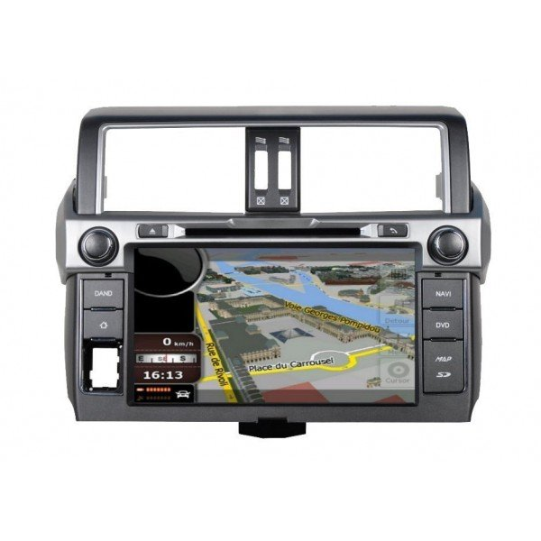 Radio DVD GPS HD QUAD CORE Toyota Land Cruiser ANDROID REF: TR2749