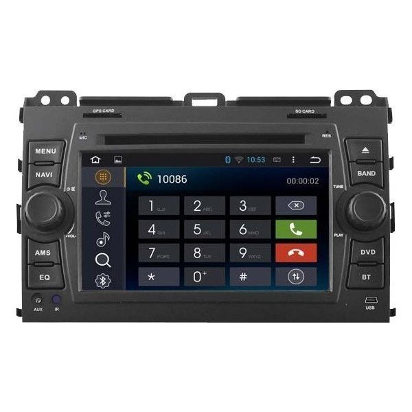 Radio DVD GPS HD QUAD CORE Toyota Land Cruiser 120 ANDROID REF: TR2750