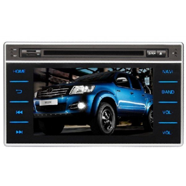 Radio DVD GPS HD QUAD CORE Toyota Hilux 2016 ANDROID REF: TR2751