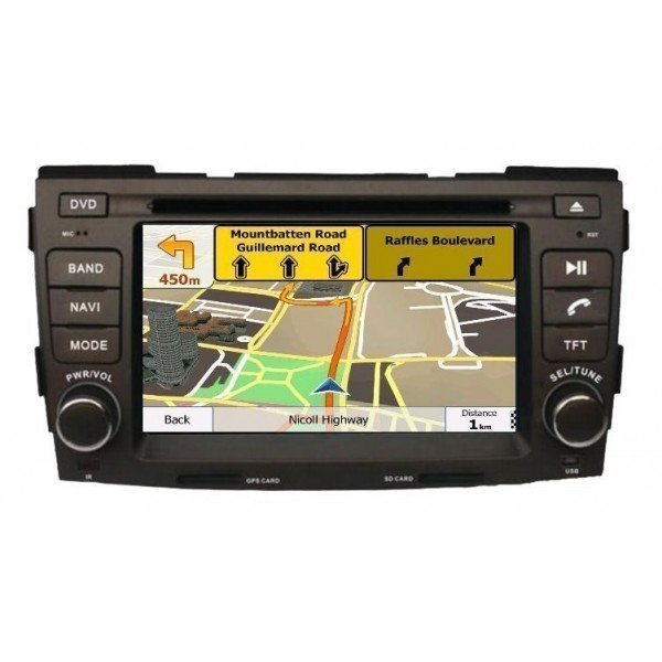 Radio DVD GPS QUAD CORE HD Hyundai Sonata 2009 ANDROID REF: TR2766