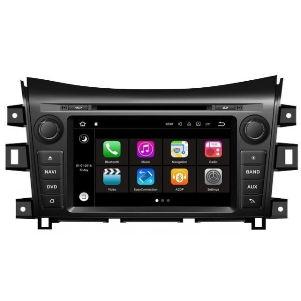 Radio DVD GPS HD QUAD CORE Nissan Navara Android REF: TR2771