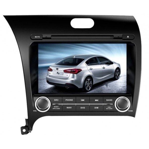 Radio DVD GPS HD QUAD CORE Kia Cerato / Forte 2013 Android REF: TR2777