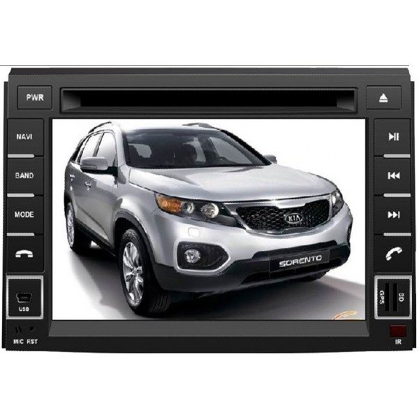 Radio DVD GPS QUAD CORE HD Kia Sorento ANDROID REF: TR2778