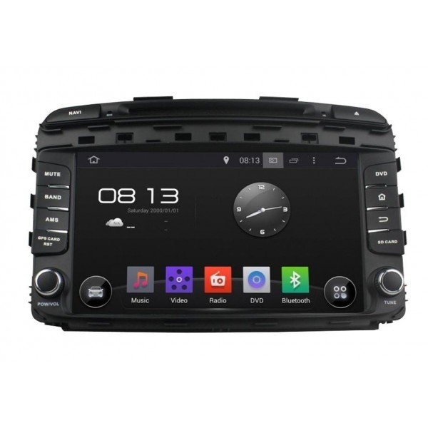 Radio DVD GPS QUAD CORE HD Kia Sorento 2015 ANDROID REF: TR2780