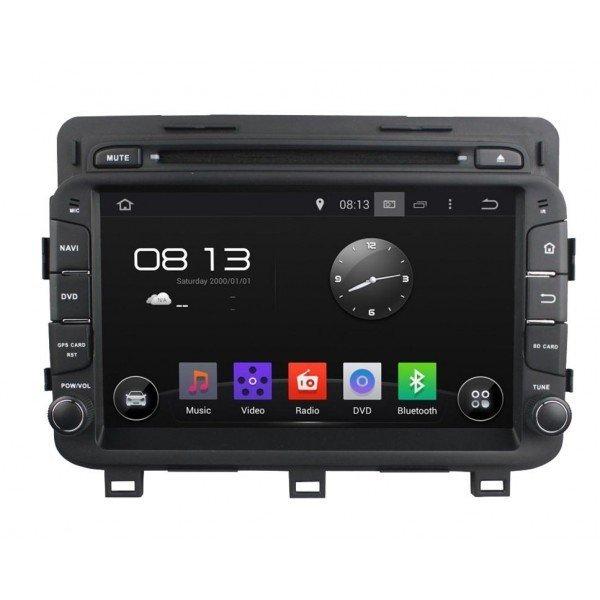 Radio DVD GPS HD QUAD CORE Kia Optima Android REF: TR2782
