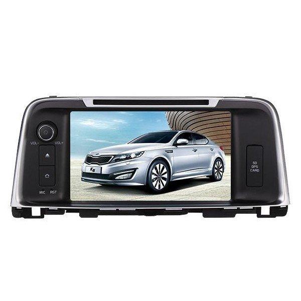 Radio DVD GPS HD QUAD CORE Kia Optima Android REF: TR2783