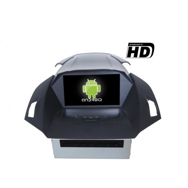 Radio DVD GPS HD Ford Kuga ANDROID PURO REF: TR1855