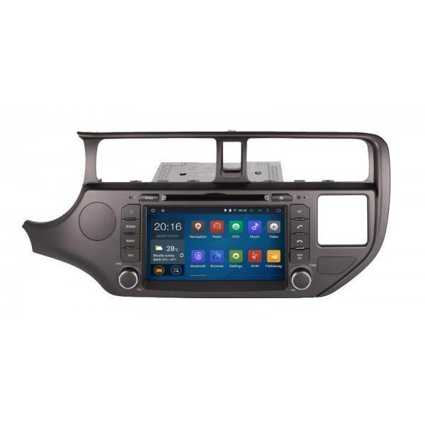 Radio DVD GPS QUAD CORE HD Kia Rio ANDROID REF: TR2784