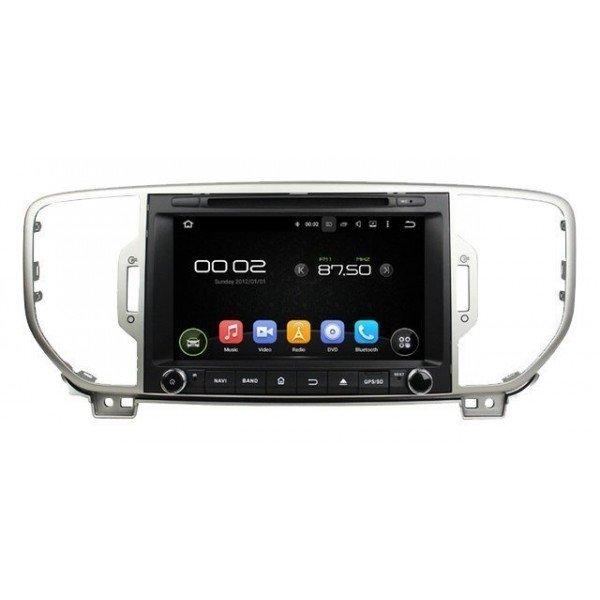 Radio DVD GPS HD QUAD CORE Kia Sportage Android REF: TR2787
