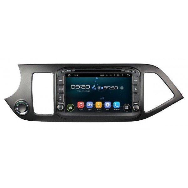 Radio DVD GPS HD QUAD CORE Kia Picanto Android REF: TR2788