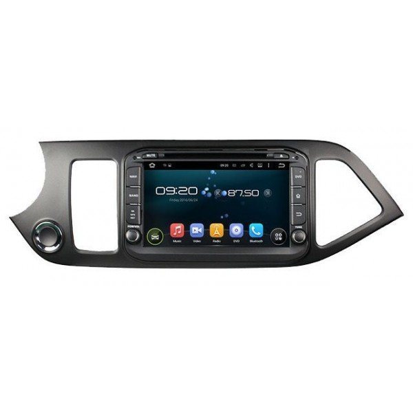 Radio DVD GPS QUAD CORE HD Kia Picanto ANDROID REF: TR2788