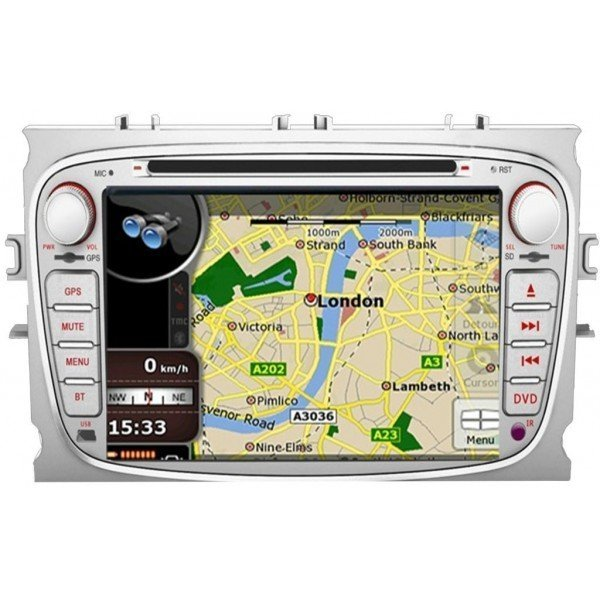 Radio DVD GPS HD QUAD CORE Ford Android TR2791