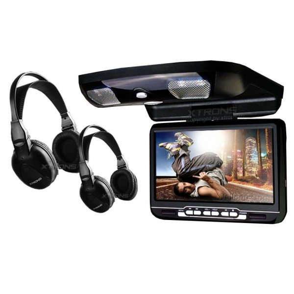 9inch car roof DVD player. REF: TR1450