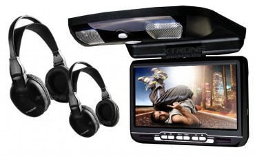 9 inch car roof DVD player.  REF: TR1450