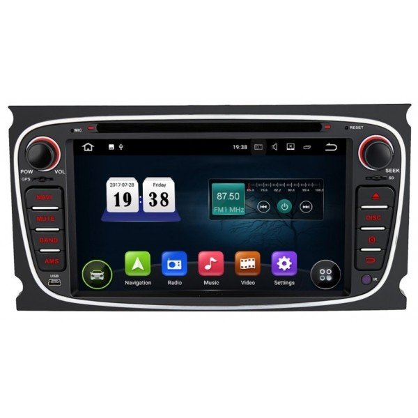 Radio DVD GPS HD QUAD CORE Ford Android REF: TR2792