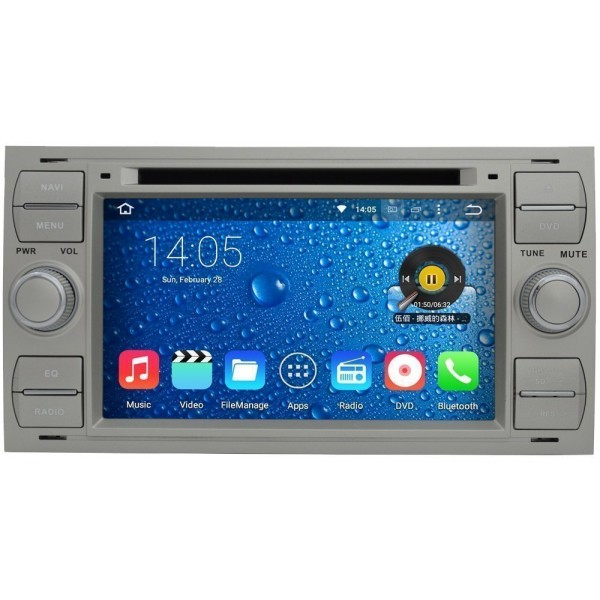 Radio DVD GPS HD QUAD CORE Ford Android TR2794 | Tradetec