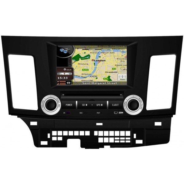 Radio DVD GPS QUAD CORE HD Mitsubishi Lancer ANDROID REF: TR2800