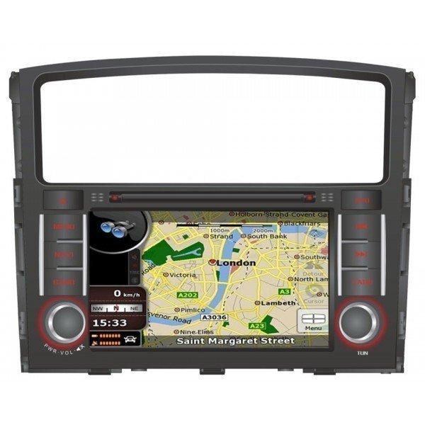 Radio DVD GPS QUAD CORE HD Mitsubishi Pajero / Montero ANDROID REF: TR2801