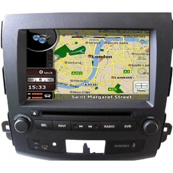 Radio DVD GPS QUAD CORE HD Mitsubishi Outlander ANDROID REF: TR2803