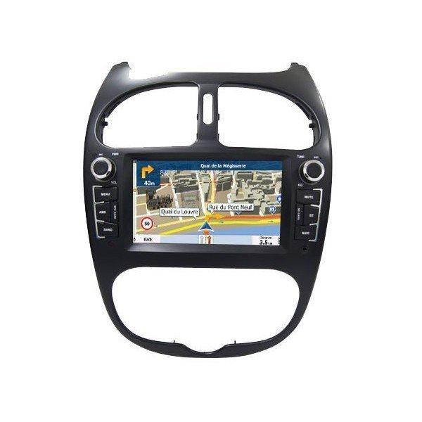 Radio DVD GPS Peugeot 206 ANDROID 7.1 REF: TR2817