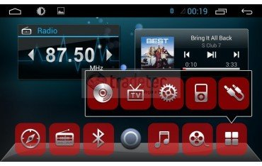 Radio DVD GPS HD Ford Ecosport 4G LTE ANDROID REF: TR1856 | Tradetec