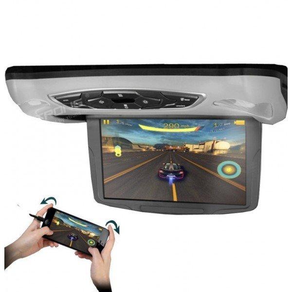 Monitor LCD 10,1 pulgadas. Reproductor DVD, USB, SD y juegos REF: TR1453