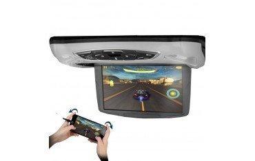 Pantalla techo coche 10,1 pulgadas. Reproductor DVD, USB, SD y juegos REF: TR1453