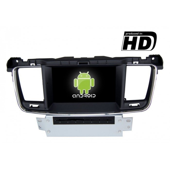 Radio DVD GPS HD Peugeot 508 PURE ANDROID REF: TR1859