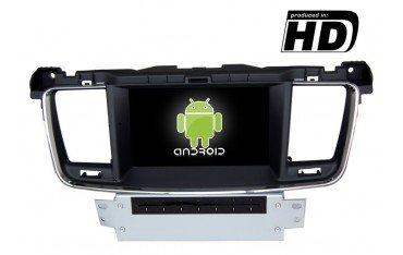 Radio DVD GPS HD Peugeot 508 ANDROID PURO REF: TR1859