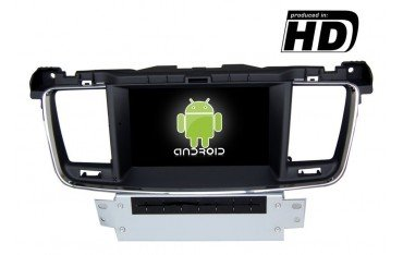 Radio DVD GPS Peugeot 508 ANDROID PURO TR1859