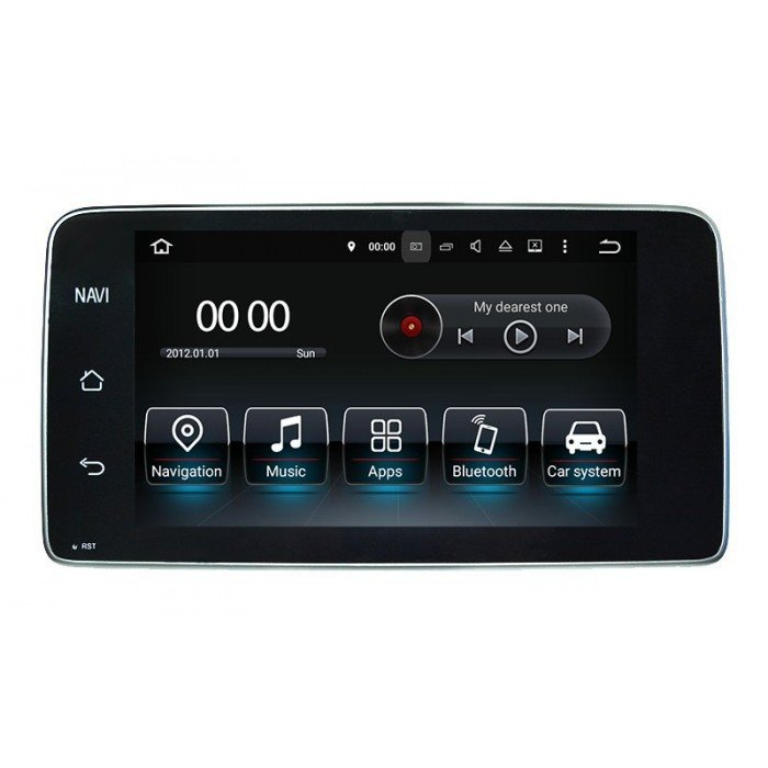 Mercedes C218 android