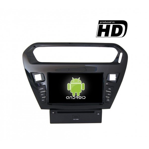 Radio DVD GPS Peugeot 301 ANDROID TR1860
