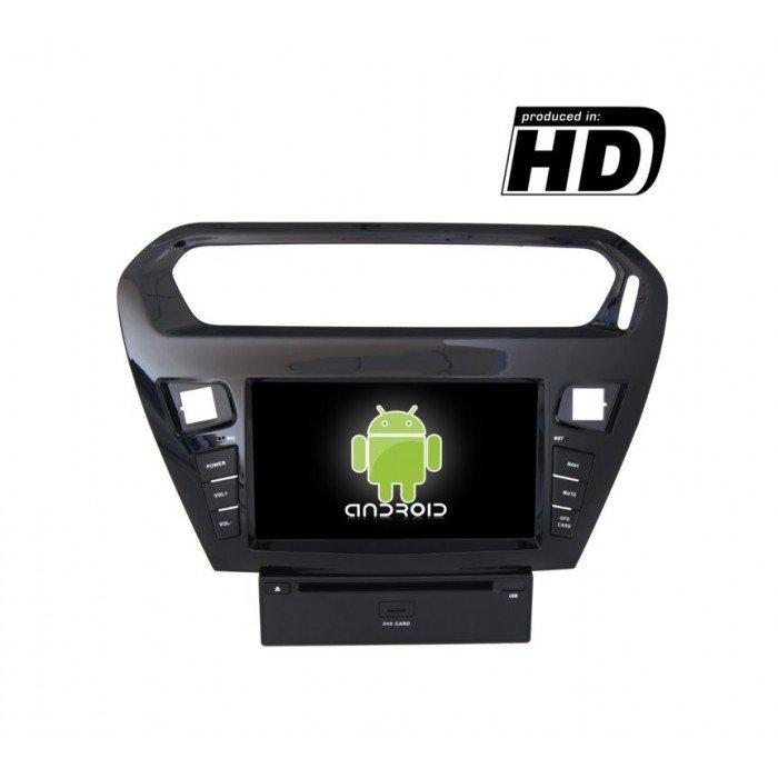 Radio DVD GPS Peugeot 301 ANDROID TR1860