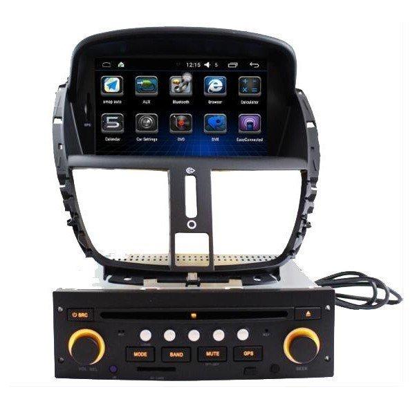 "Radio Monitor 7"" GPS Peugeot 207 Android Puro REF: TR2850"