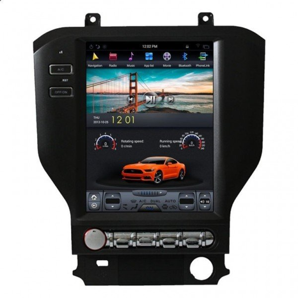 Radio DVD GPS ANDROID TESLA STYLE Ford Mustang REF: TR2852