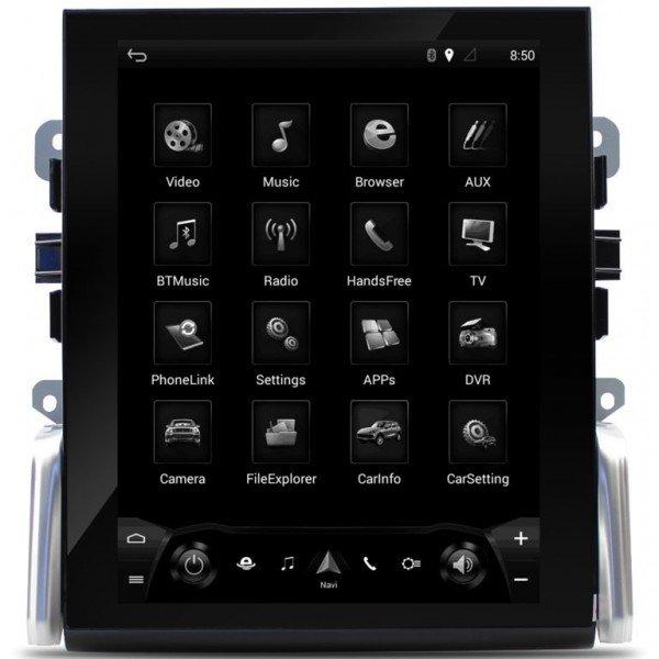 Radio DVD GPS ANDROID TESLA STYLE Porsche Macan REF: TR2855